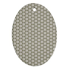 Background Website Pattern Soft Oval Ornament (two Sides)