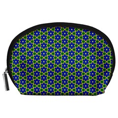 Texture Background Pattern Accessory Pouches (large)  by Celenk