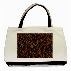 Camouflage Tarn Forest Texture Basic Tote Bag by Celenk