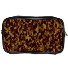 Camouflage Tarn Forest Texture Toiletries Bags