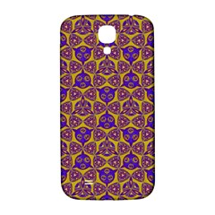 Sacred Geometry Hand Drawing 2 Samsung Galaxy S4 I9500/i9505  Hardshell Back Case by Cveti