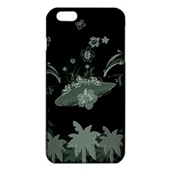 Surfboard With Dolphin, Flowers, Palm And Turtle Iphone 6 Plus/6s Plus Tpu Case by FantasyWorld7