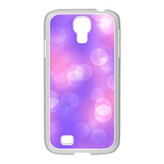 Soft Lights Bokeh 1 Samsung Galaxy S4 I9500/ I9505 Case (white) by MoreColorsinLife