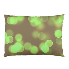Soft Lights Bokeh 4c Pillow Case by MoreColorsinLife