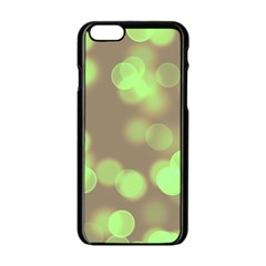 Soft Lights Bokeh 4c Apple Iphone 6/6s Black Enamel Case by MoreColorsinLife