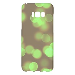 Soft Lights Bokeh 4c Samsung Galaxy S8 Plus Hardshell Case  by MoreColorsinLife