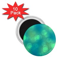Soft Lights Bokeh 1b 1 75  Magnets (10 Pack)  by MoreColorsinLife