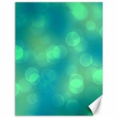 Soft Lights Bokeh 1b Canvas 12  X 16   by MoreColorsinLife
