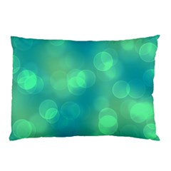 Soft Lights Bokeh 1b Pillow Case by MoreColorsinLife