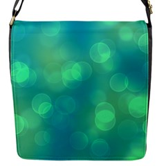 Soft Lights Bokeh 1b Flap Messenger Bag (s) by MoreColorsinLife