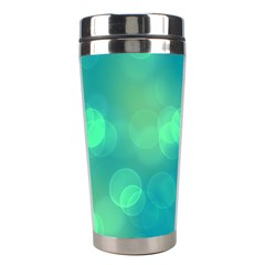 Soft Lights Bokeh 1b Stainless Steel Travel Tumblers by MoreColorsinLife