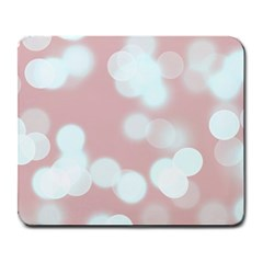 Soft Lights Bokeh 5 Large Mousepads by MoreColorsinLife