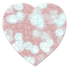 Soft Lights Bokeh 5 Jigsaw Puzzle (heart) by MoreColorsinLife