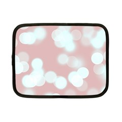 Soft Lights Bokeh 5 Netbook Case (small)  by MoreColorsinLife