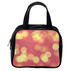 Soft Lights Bokeh 4b Classic Handbags (one Side) by MoreColorsinLife