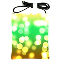 Soft Lights Bokeh 3 Shoulder Sling Bags by MoreColorsinLife