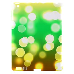 Soft Lights Bokeh 3 Apple Ipad 3/4 Hardshell Case (compatible With Smart Cover) by MoreColorsinLife