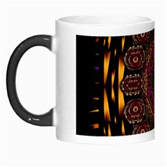 A Flaming Star Is Born On The  Metal Sky Morph Mugs by pepitasart