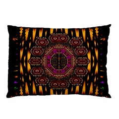 A Flaming Star Is Born On The  Metal Sky Pillow Case by pepitasart