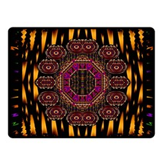A Flaming Star Is Born On The  Metal Sky Fleece Blanket (small) by pepitasart