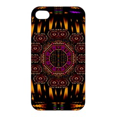 A Flaming Star Is Born On The  Metal Sky Apple Iphone 4/4s Hardshell Case by pepitasart