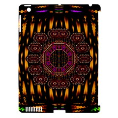 A Flaming Star Is Born On The  Metal Sky Apple Ipad 3/4 Hardshell Case (compatible With Smart Cover) by pepitasart