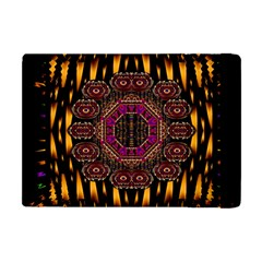 A Flaming Star Is Born On The  Metal Sky Apple Ipad Mini Flip Case by pepitasart
