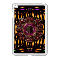 A Flaming Star Is Born On The  Metal Sky Apple Ipad Mini Case (white) by pepitasart