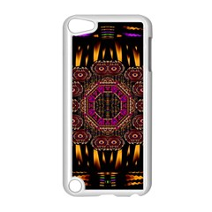 A Flaming Star Is Born On The  Metal Sky Apple Ipod Touch 5 Case (white) by pepitasart