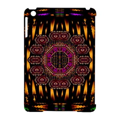 A Flaming Star Is Born On The  Metal Sky Apple Ipad Mini Hardshell Case (compatible With Smart Cover) by pepitasart