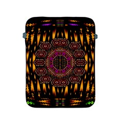 A Flaming Star Is Born On The  Metal Sky Apple Ipad 2/3/4 Protective Soft Cases by pepitasart