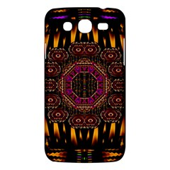 A Flaming Star Is Born On The  Metal Sky Samsung Galaxy Mega 5 8 I9152 Hardshell Case  by pepitasart