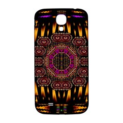 A Flaming Star Is Born On The  Metal Sky Samsung Galaxy S4 I9500/i9505  Hardshell Back Case by pepitasart