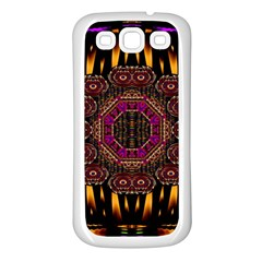 A Flaming Star Is Born On The  Metal Sky Samsung Galaxy S3 Back Case (white) by pepitasart