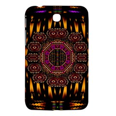 A Flaming Star Is Born On The  Metal Sky Samsung Galaxy Tab 3 (7 ) P3200 Hardshell Case  by pepitasart
