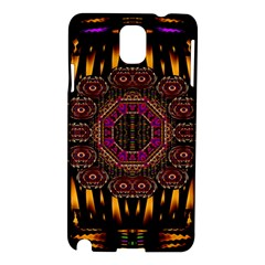 A Flaming Star Is Born On The  Metal Sky Samsung Galaxy Note 3 N9005 Hardshell Case by pepitasart