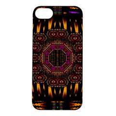 A Flaming Star Is Born On The  Metal Sky Apple Iphone 5s/ Se Hardshell Case by pepitasart
