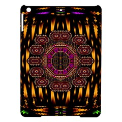 A Flaming Star Is Born On The  Metal Sky Ipad Air Hardshell Cases by pepitasart