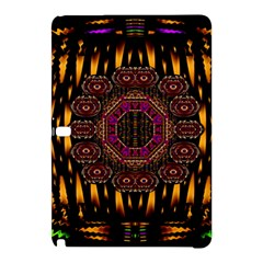 A Flaming Star Is Born On The  Metal Sky Samsung Galaxy Tab Pro 10 1 Hardshell Case by pepitasart