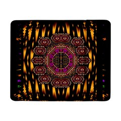 A Flaming Star Is Born On The  Metal Sky Samsung Galaxy Tab Pro 8 4  Flip Case by pepitasart
