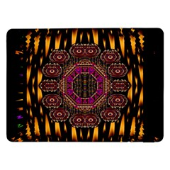 A Flaming Star Is Born On The  Metal Sky Samsung Galaxy Tab Pro 12 2  Flip Case by pepitasart
