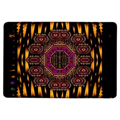 A Flaming Star Is Born On The  Metal Sky Ipad Air Flip by pepitasart