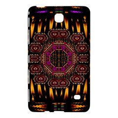 A Flaming Star Is Born On The  Metal Sky Samsung Galaxy Tab 4 (7 ) Hardshell Case  by pepitasart
