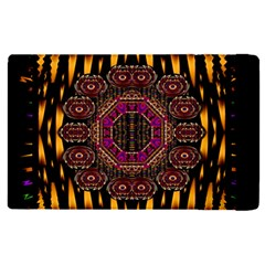 A Flaming Star Is Born On The  Metal Sky Apple Ipad Pro 9 7   Flip Case by pepitasart