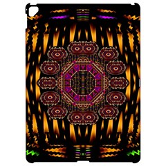 A Flaming Star Is Born On The  Metal Sky Apple Ipad Pro 12 9   Hardshell Case by pepitasart