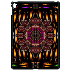 A Flaming Star Is Born On The  Metal Sky Apple Ipad Pro 9 7   Black Seamless Case by pepitasart