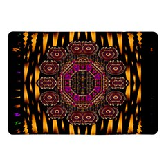 A Flaming Star Is Born On The  Metal Sky Apple Ipad Pro 10 5   Flip Case by pepitasart