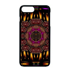 A Flaming Star Is Born On The  Metal Sky Apple Iphone 8 Plus Seamless Case (black) by pepitasart