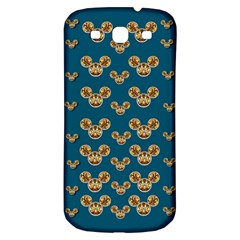 Cartoon Animals In Gold And Silver Gift Decorations Samsung Galaxy S3 S Iii Classic Hardshell Back Case by pepitasart