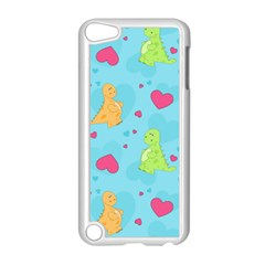 Dinosaur Love Pattern Apple Ipod Touch 5 Case (white) by allthingseveryday